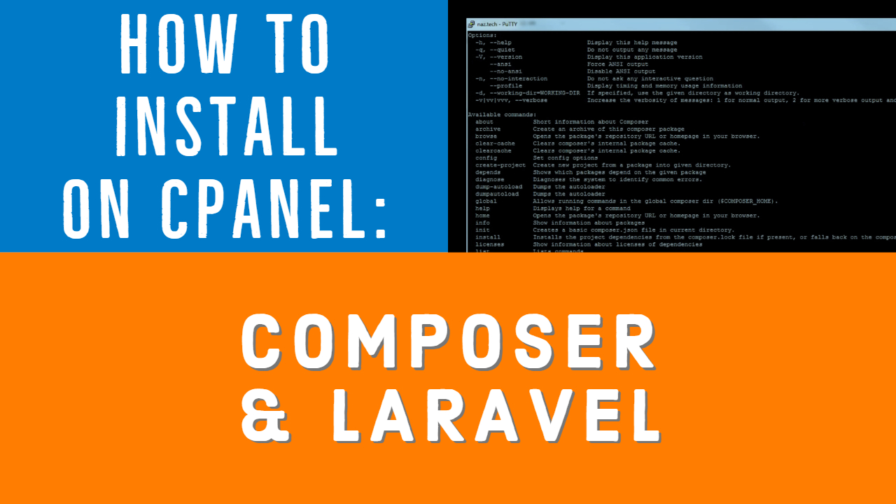How to Install Laravel on cPanel
