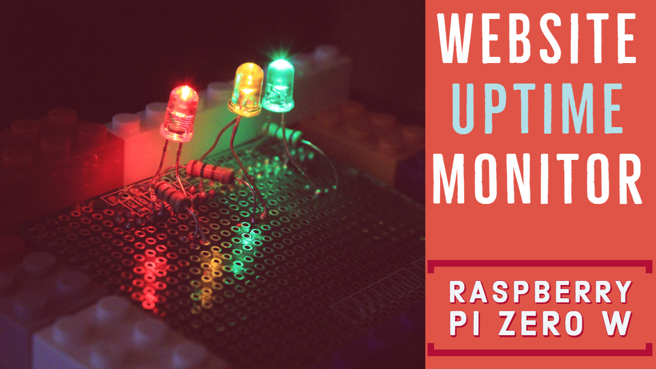 Raspberry Pi - Website Uptime Monitor